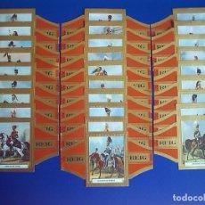 Vitolas de colección: REIG, CABALLERIA INGLESA, 28 VITOLINAS, SERIE COMPLETA.. Lote 61471879