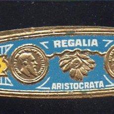 Vitolas de colección: VITOLA CLASICA: 121014, TEMA FLORES, REGALIA ARISTOCRATA. Lote 63434584
