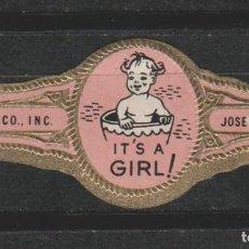 Vitolas de colección: LOTE X- VITOLA JOSE ESCALANTE GIRL. Lote 64589423