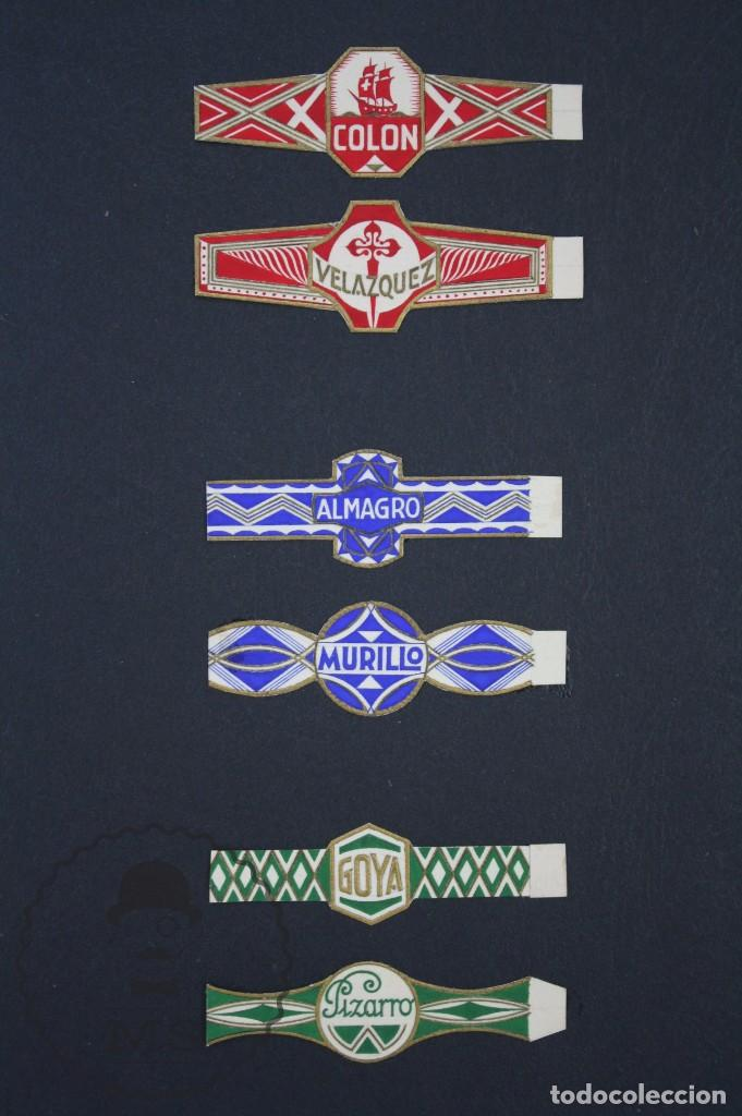 Vitolas de colección: Conjunto de 4 Acuarelas - Ilustraciones Originales para Vitolas y Habilitaciones de Tabaco - Foto 17 - 66686170