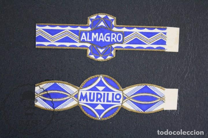Vitolas de colección: Conjunto de 4 Acuarelas - Ilustraciones Originales para Vitolas y Habilitaciones de Tabaco - Foto 18 - 66686170
