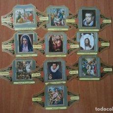 Vitolas de colección: VITOLAS ALVARO : CUADROS DE PINTORES ESPAÑOLES - EL GRECO - 12 VITOLAS. Lote 67439509
