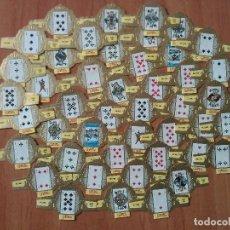 Vitolas de colección: 50 VITOLAS BARAJA SERIE 350 - ERNST CASIMIR. Lote 67440749