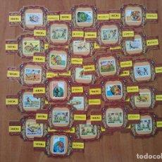 Vitolas de colección: 26 VITOLAS CAMPEONATOS MUNDIALES FUTBOL - 2ª SERIE. Lote 67442861