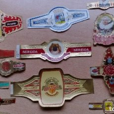 Vitolas de colección: LOTE 12 VITOLAS SURTIDO ALGO RARAS TABACO M. LOPEZ, APOLO LAS PALMAS, ELISABETH BAS, HABANA..... Lote 68066765