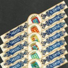 Vitolas de colección: EL CENTÉN (CANARIAS). ESCUDOS DE LAS SIETE ISLAS CANARIAS.. Lote 69267449