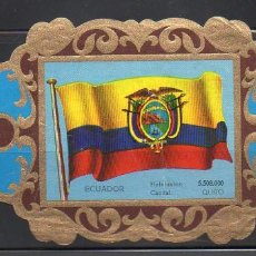 Vitolas de colección: LA IMPERIAL, BANDERAS, Nº 40. Lote 69579073