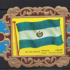 Vitolas de colección: LA IMPERIAL, BANDERAS, Nº 41. Lote 69579109