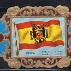 Vitolas de colección: LA IMPERIAL, BANDERAS, Nº 42. Lote 69579125