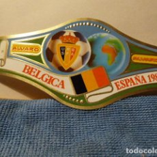Vitolas de colección: VITOLA DEL MUNDIAL ESPAÑA 82-BELGICA -TAMAÑO GRANDE-. Lote 72865275