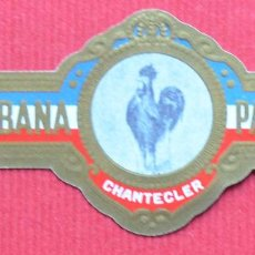 Bagues de cigare de collection: VITOLA - DON JULIAN - ANTOLOGIA VITOLFILICA - PARTAGAS - 7. Lote 74591931