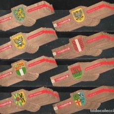 Vitolas de colección: ¡OFERTA!. HUDSON. ESCUDOS DE ARMAS COMPLETA (8 SERIES). A, B, C, D, E, F, G, H.. Lote 74943835
