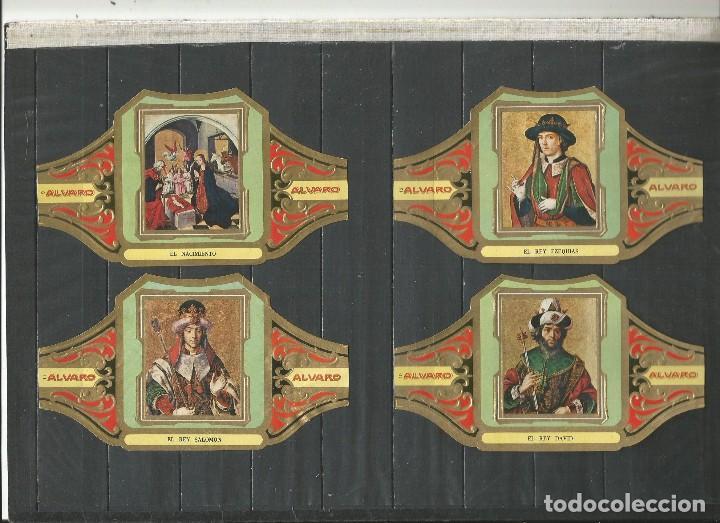Vitolas de colección: ÁLVARO, CUADROS DE PINTORES ESPAÑOLES. BERRUGUETE SERIE 12 VITOLAS. - Foto 3 - 79930825