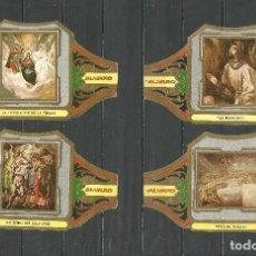 Vitolas de colección: ÁLVARO, CUADROS DE PINTORES ESPAÑOLES. EL GRECO SERIE III 12 VITOLAS.. Lote 79938261