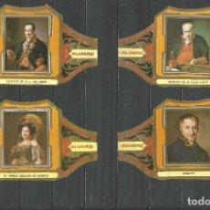 Vitolas de colección: ÁLVARO, CUADROS DE PINTORES ESPAÑOLES. GOYA SERIE 12 VITOLAS.. Lote 79938981