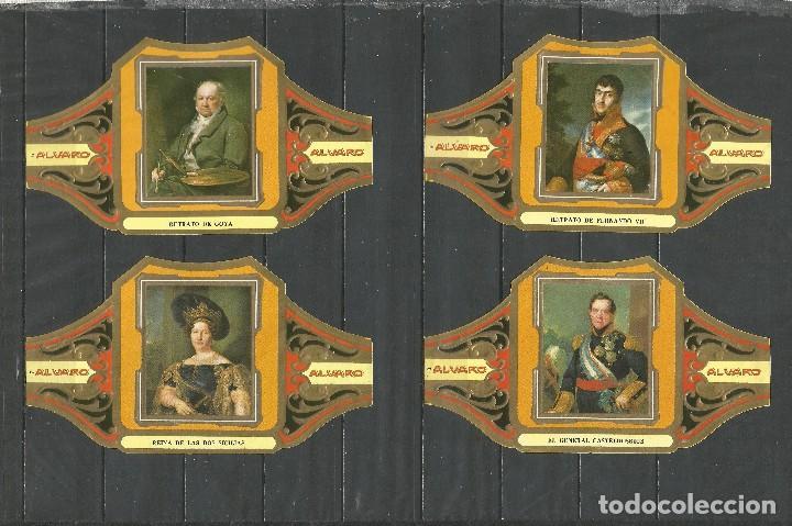 Vitolas de colección: ÁLVARO, CUADROS DE PINTORES ESPAÑOLES. GOYA SERIE 12 VITOLAS. - Foto 2 - 79938981