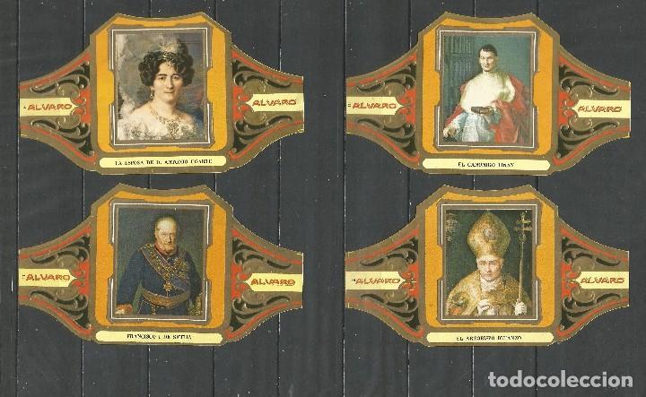 Vitolas de colección: ÁLVARO, CUADROS DE PINTORES ESPAÑOLES. GOYA SERIE 12 VITOLAS. - Foto 3 - 79938981