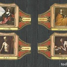 Vitolas de colección: ÁLVARO, CUADROS DE PINTORES ESPAÑOLES. RIBERA, SERIE 12 VITOLAS.. Lote 79940221