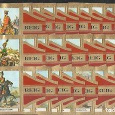 Vitolas de colección: VITOLAS. SERIE COMPLETA (28 UNID). REIG. CABALLERÍA AUSTRÍACA.. Lote 82835104
