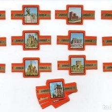Vitolas de colección: VITOLAS, SERIE JUBILE - CAPITALES EUROPEAS, 24 VITOLAS. Lote 85615740