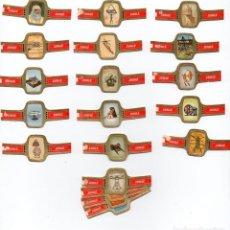 Vitolas de colección: VITOLAS, SERIE JUBILE - LEONARDO DA VINCI ,24 VITOLAS. Lote 85615786