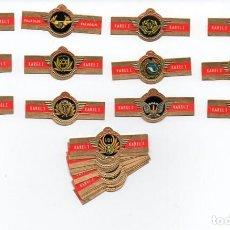 Vitolas de colección: VITOLAS,SERIE KAREL I - COMPAÑÍAS AÉREAS, F.P. 24 VITOLAS. Lote 85615302