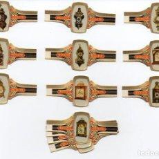 Vitolas de colección: VITOLAS, SERIE COMPLETA MARCA NICOLETO - RELOJES, 24 VITOLAS. Lote 86342348
