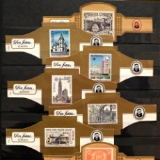Vitolas de colección: LOTE 9 VITOLAS DON JULIAN SELLOS EUROPA. Lote 86343440