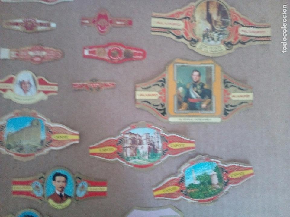 Vitolas de colección: LOTE DE 140 ANTIGUAS VITOLAS - Foto 3 - 89210708