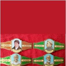 Vitolas de colección: LOTE 4 VITOLAS FILÓSOFOS GRAN TAMAÑO. Lote 89407824