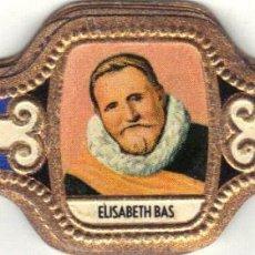 Vitolas de colección: ELISABETH BAS RETRATOS FRANCISCO COL 15 VITOLAS SERIE COMPLETA. Lote 95137223