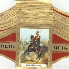 Vitolas de colección: REIG CABALLERIA ALEMANIA 28 VITOLAS GRANDES SERIE COMPLETA. Lote 95204731