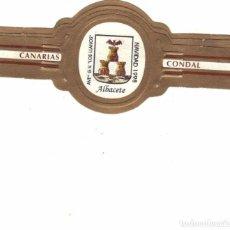 Vitolas de colección: CONDAL LOS LLANOS NAVIDAD 1998 3 VITOLAS SERIE COMPLETA. Lote 95205087