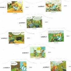 Vitolas de colección: MURILLO ASTERIX 10 VITOLAS SERIE COMPLETA. Lote 95284031