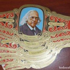 Vitolas de colección: VITOLAS ALVARO.PREMIOS NOBEL DE LITERATURA. Lote 95451307