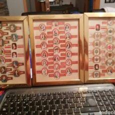 Vitolas de colección: CUADROS CON VITOLAS LOTE DE TRES. Lote 95913718