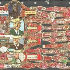 Vitolas de colección: LOTE DE 50 VITOLAS DIFERENTES (L1). Lote 97614339