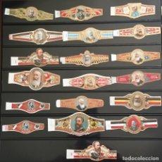 Vitolas de colección: LOTE 19 VITOLAS CLÁSICAS. Lote 98647427