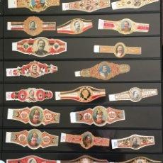 Vitolas de colección: LOTE 21 VITOLAS CLÁSICAS. Lote 98647855