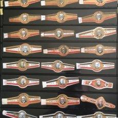 Vitolas de colección: LOTE 24 VITOLAS CLÁSICAS. Lote 98648343