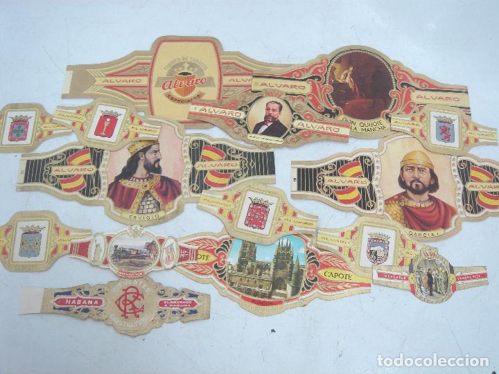 Vitolas de colección: LOTE 180 VITOLAS COLECCION - ALVARO CAPOTE LA FAMA RUMBO HERRERA ..ETC - VITOLA PUROS TABACO - Foto 2 - 100122671