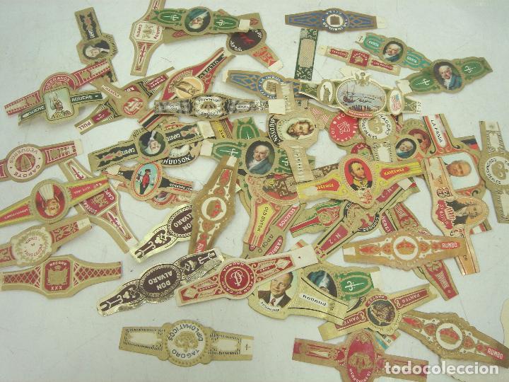 Vitolas de colección: LOTE 180 VITOLAS COLECCION - ALVARO CAPOTE LA FAMA RUMBO HERRERA ..ETC - VITOLA PUROS TABACO - Foto 4 - 100122671