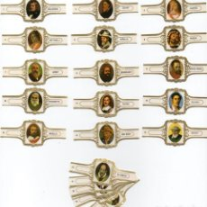 Vitolas de colección: VITOLAS. SERIE HOFNAR, AUTORRETRATOS. 24 VITOLAS.. Lote 101131675