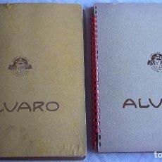 Vitolas de colección: DOS ÁLBUMES VITOLAS ALVARO . Lote 101716791