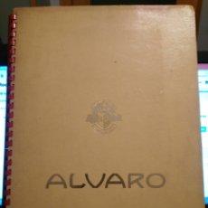 Vitolas de colección: ALBUM ALVARO CON 200 VITOLAS. Lote 103886779