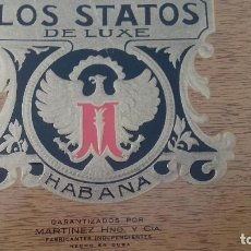 Vitolas de colección: LOS STATUS. Lote 104002579