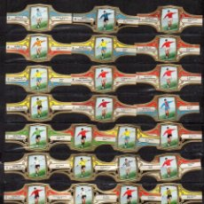 Vitolas de colección: VITOLAS. SERIE MURILLO - EQUIPOS DE FUTBOL, SERIE 6, 32 VITOLAS.. Lote 105984651
