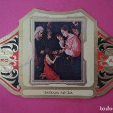 Vitolas de colección: VITOLA DE:CUADRO DE PINTORES ESPAÑOLES,SAGRADA FAMILIA-ZURBARAN,SERIE II,DE ALVARO. Lote 106751935