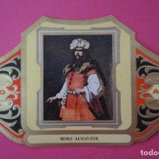 Vitolas de colección: VITOLA DE:CUADRO DE PINTORES ESPAÑOLES,MORO ALMANZOR-ZURBARAN,SERIE II,DE ALVARO. Lote 106752387