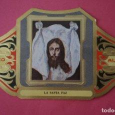 Vitolas de colección: VITOLA DE:CUADRO DE PINTORES ESPAÑOLES,LA SANTA PAZ-EL GRECO,SERIE II,DE ALVARO. Lote 106754263